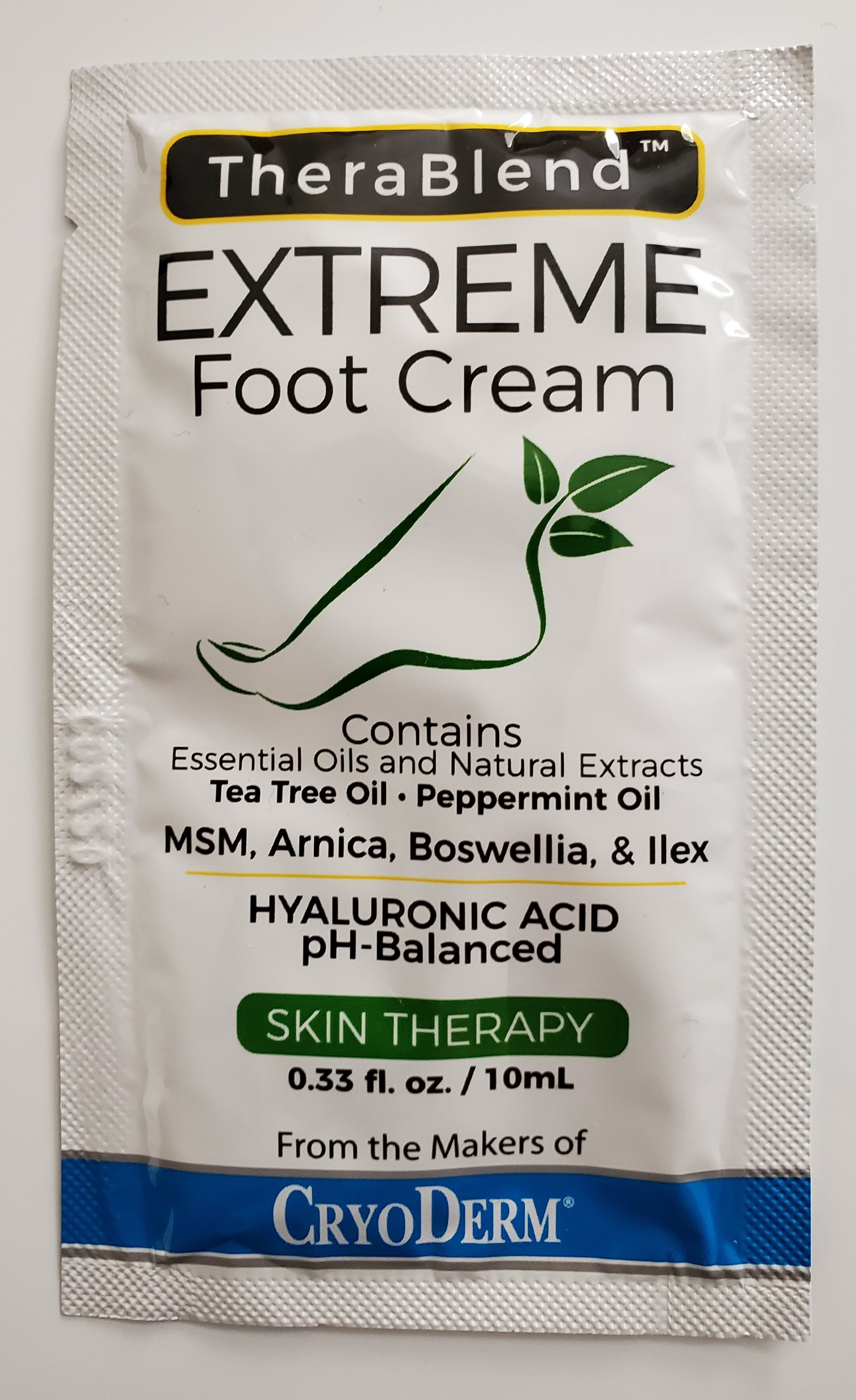 Foot Cream Travel Pack